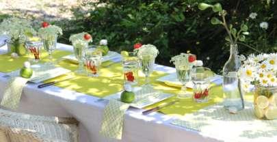 La chaleur estivale sur vos tables