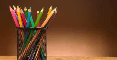 Un pot à crayons simple et astucieux