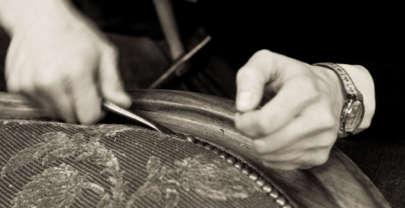 A la découverte du métier de tapissier et métallier