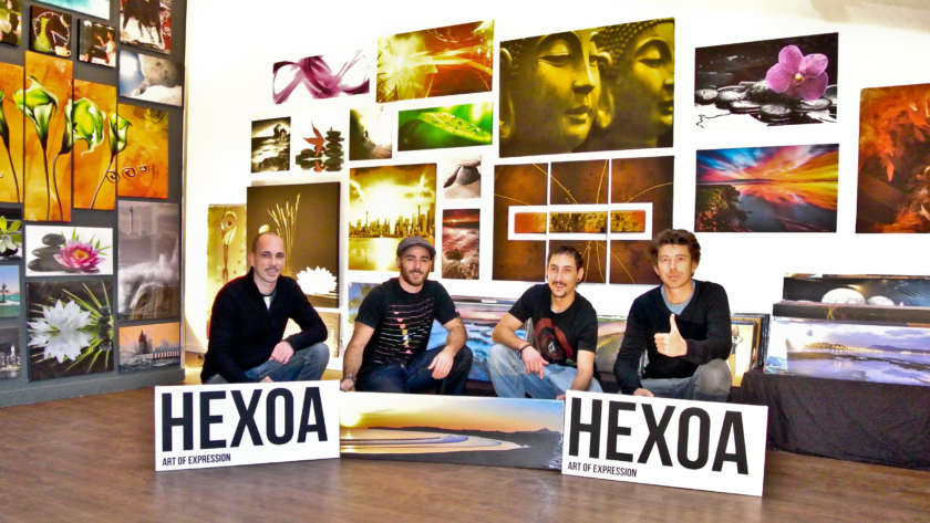 Hexoa, le test de ce site d'art mural