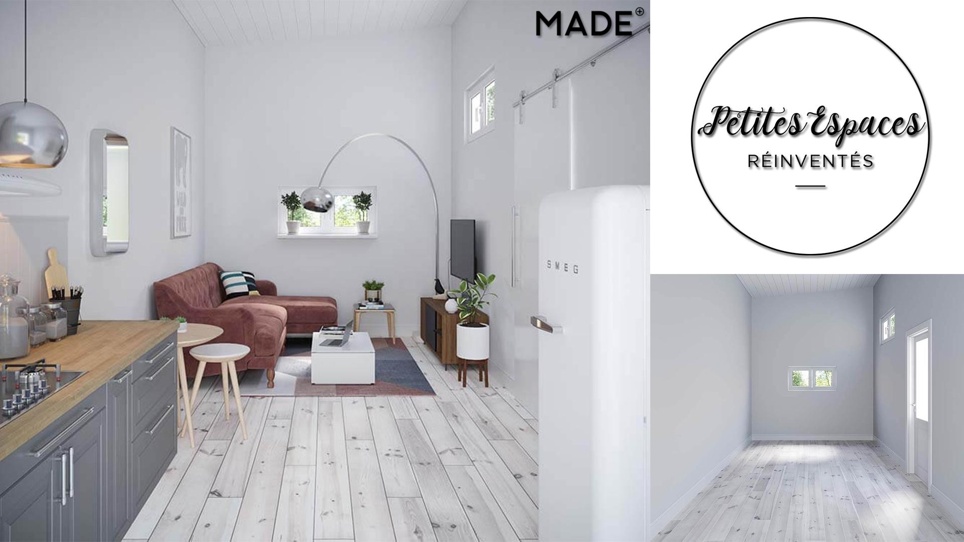 Le concept Made: comment optimiser les petits espaces?