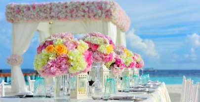 Quelques idées de décoration de table de mariage